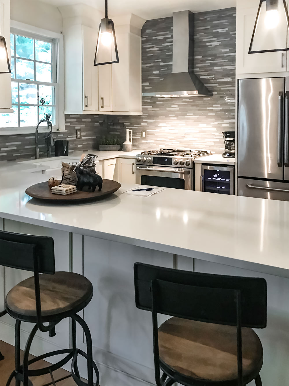 Roswell Ga Kitchen Living Room Renovation 2018 Ca Shae Interiors